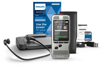 Philips DPM6000 with Speech Exec Dictation & Transcription set V11-2 year licence
