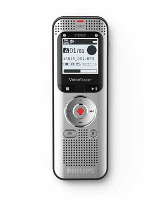 Philips DVT2050 Voice Tracer Audio Recorder