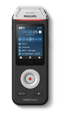 Philips DVT2110 VoiceTracer Audio Recorder