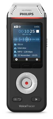 Philips DVT2810 VoiceTracer Audio Recorder
