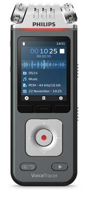 Philips DVT6110 VoiceTracer Audio Recorder