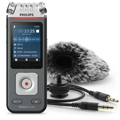 Philips DVT7110 VoiceTracer Audio Recorder