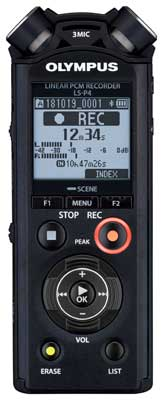 LS-P4 Digital Voice Recorder